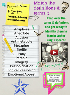 MLK Rhetorical Devices