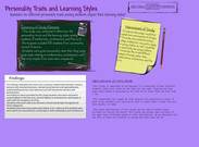 Personality Traits and Learning 's thumbnail