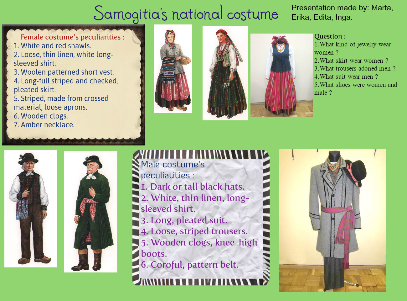 Lithuanian traditional clothing