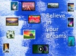 Believe in your dreams thumbnail